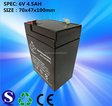 msds certificate battery 6v4.5ah. 6v 4.5ah lead acid battery for solar bank, rechargeable batteries 6v 4.5ah.