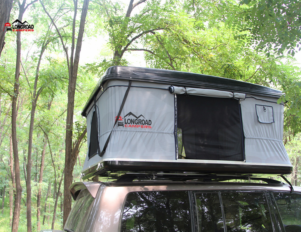 Outdoor camping 4wd hard shell overland roof top tent