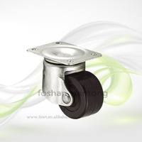 2 Inch Small Caster Swivel Rubber Industrial Caster Wheel