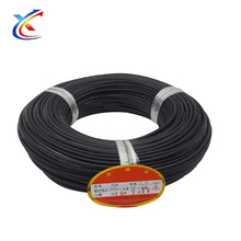 Long Term Cooperate Supplier 14 gauge ultra flexible fiberglass cable Silicone Rubber Wire