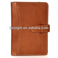 Wholesale laptop sleeve manufacturer leather laptop book case