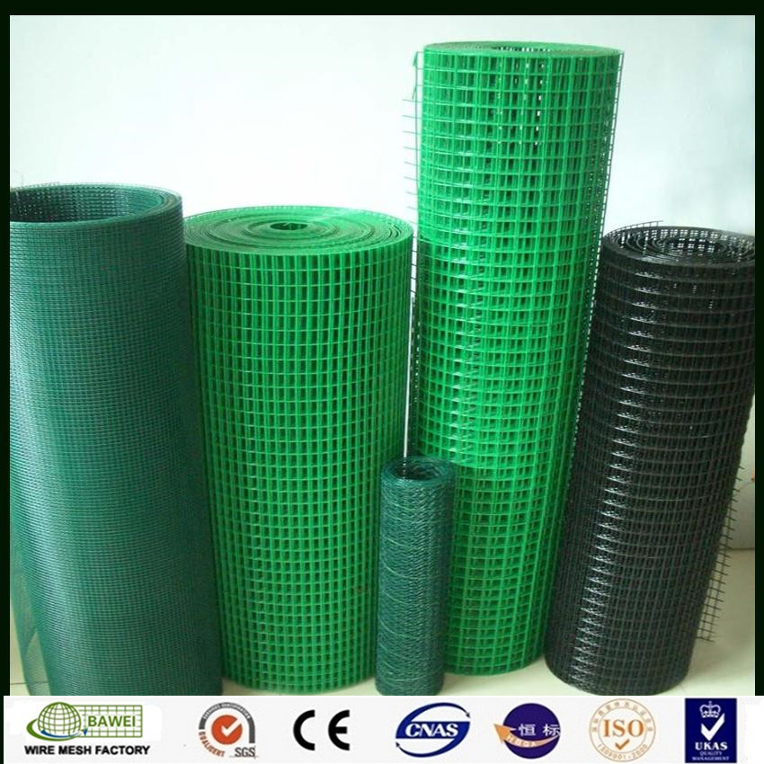 PVC coated welded wire mesh panels fence for protection fencing