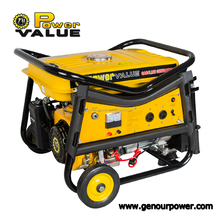 Electric generator 2kw, generator digital silent 2000w, hand operated generator