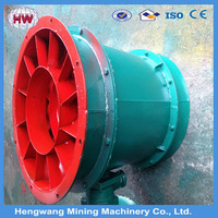 hengwang Group Explosion proof mining axial flow fan for local ventilation