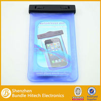 2014 newest multi model design pvc phone waterproof case, Waterproof PVC Bag case for iPhone 5/5S