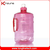No leaking PET 2000ml clear plastic novelty milk jug with lids and side handle manufacturers (KL-8024)