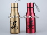 Fashionable Bottle Double Wall 420ML Hot Selling painting stainless steel hip flask