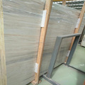 Polished Euroasia wooden marble slab
