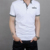 Nanchang Guanqiu new design with different color collar custom no label polo shirt