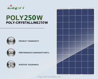 250 watt high efficiency strong power performance polycrystalline solar panel