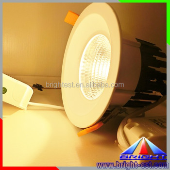 COB 40W LED Downlight 8inch led downlight extra warm white led down light High CRI Round Sharp cutout 160mm led downlight