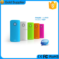 4400mAh External Battery Backup Portable USB Charger Power Bank for iPhone Samsung HTC Mobile Phone