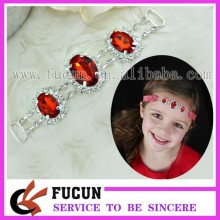 Crystal Headband Connector Slider Strap rhinestone Connector
