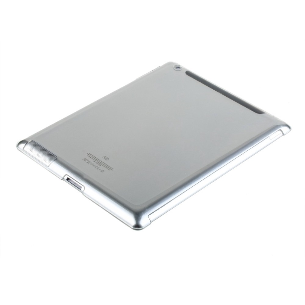 Stylish Clear Transparent PC Hard Back Protective Case Cover For iPad 2 3 4