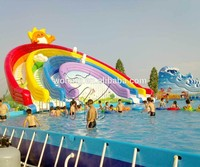 giant inflatable water slide, giant inflatable water park games for sale