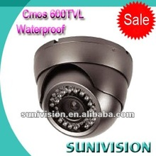 Hot sale 1/3 cmos ccd dome camera 600tvl