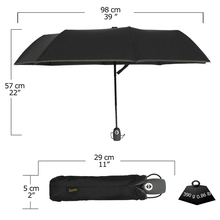 Compact Travel Umbrella with Windproof Lightweight Starry and Blossom Automatic Foldable
