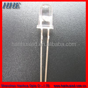 Low Power Ultraviolent/UV LED 5mm Round LED Diode emitted
