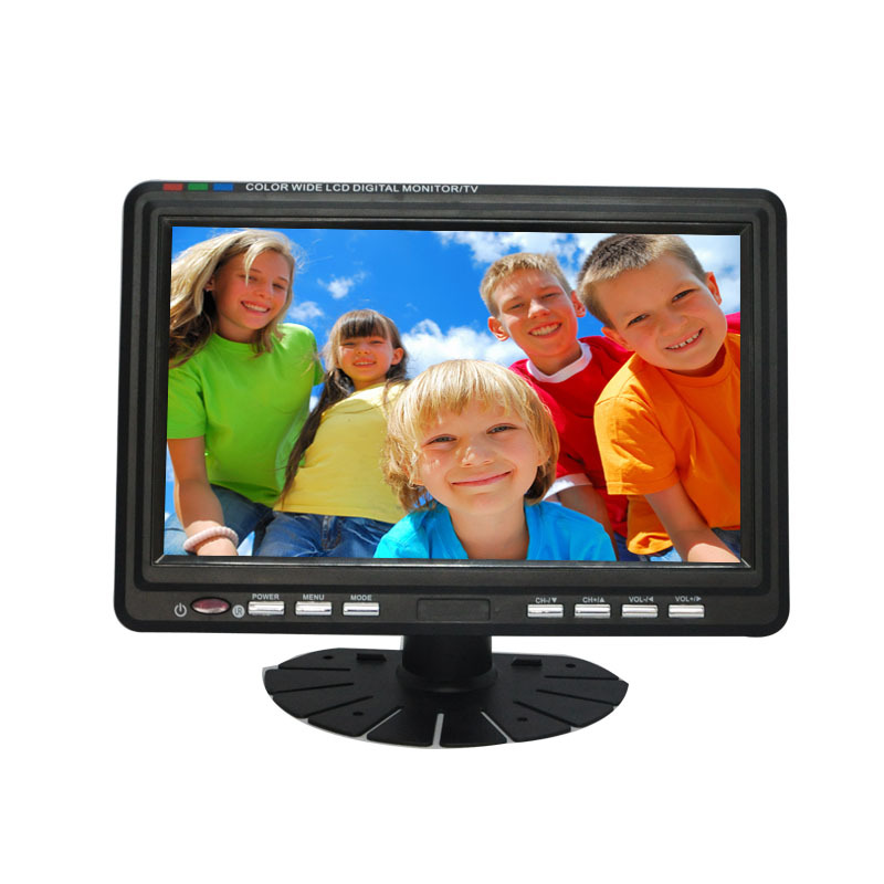 "3d mini lcd tv 9"" with sd card slot"