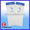 transparent good quality oker plastic sealed bags