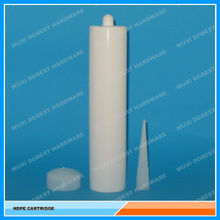 factory price HDPE plastic tube for RTV silicone sealant cartridge