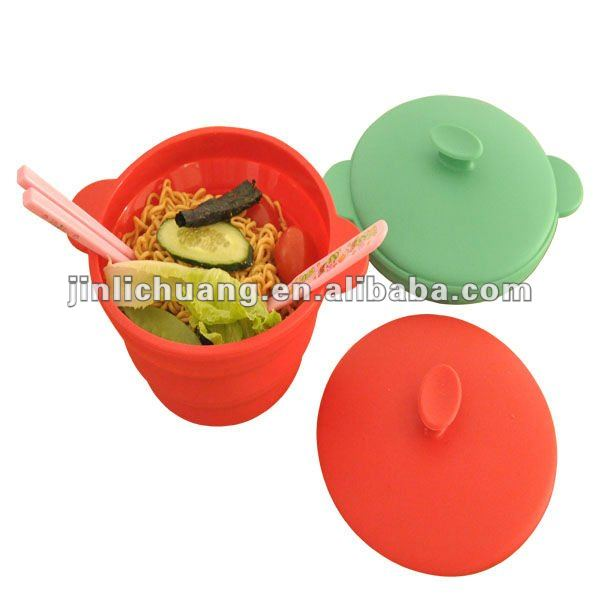 idli steamer,silicone collapsible food steamer