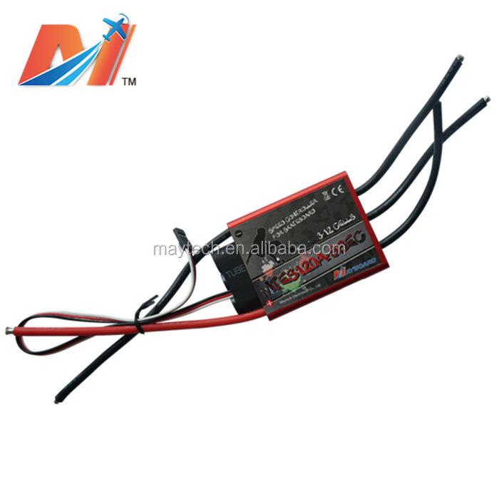 Maytech electric skateboard dual <strong>motor</strong> esc with 120A 12S high voltage