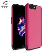 Popular attractive style pink cases covers for one plus 5
