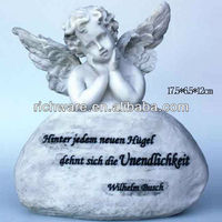 2013 cheap cemetery angel memorial resin angels monuments and headstones