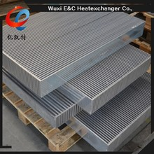 aluminum radiator 0.2mm thickness fin