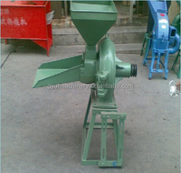 Small Capacity Cron grinder/ Maize grain crushing machine/ Corn grinding disk mill 0086 18236968979