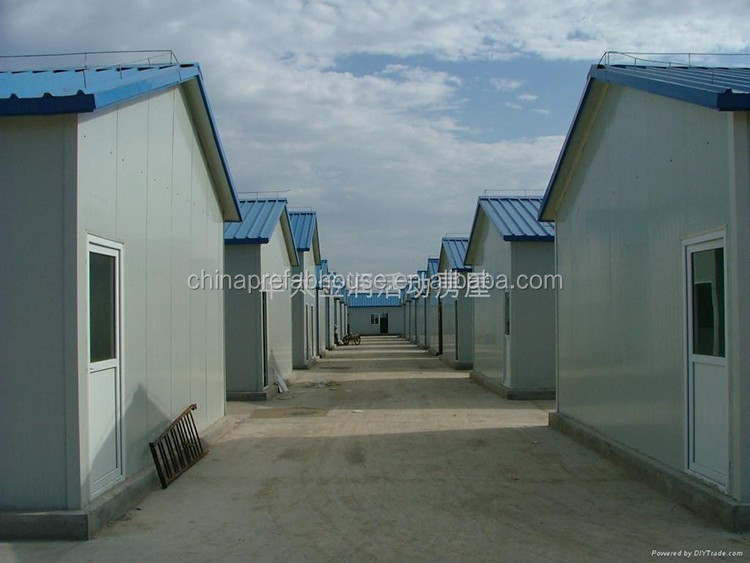 Modern temporary office pre fabricated house