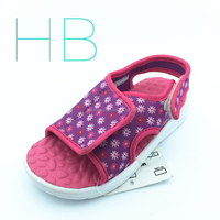Kid's Sandals with EVA Outsoles and SBR Upper with Common Mould for summer and Beach