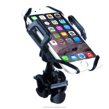 Silicone Band Bike Handlebar Holder Cellphone Rotating Bicycle Mount Bracket for Xiaomi Redmi Prime 3S