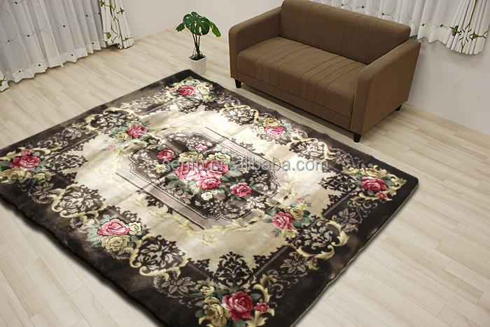700gsm soft acrylic compoisitive foam decorative room carpets