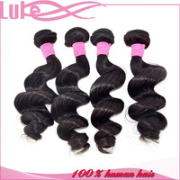 Top Quality Brazilian Gray Human Hair Weave