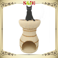 SD Special design top fashional double layer unique cat beds