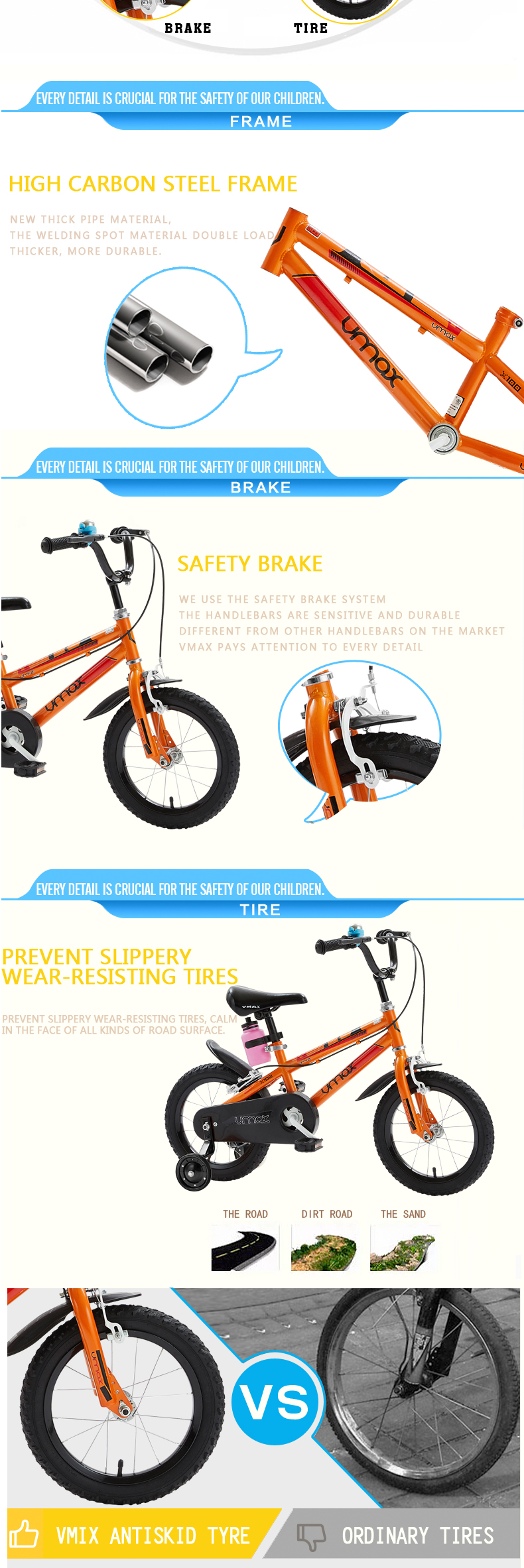 2018 hot promotional child bike for 3 years old boy bicycle YQ12-20