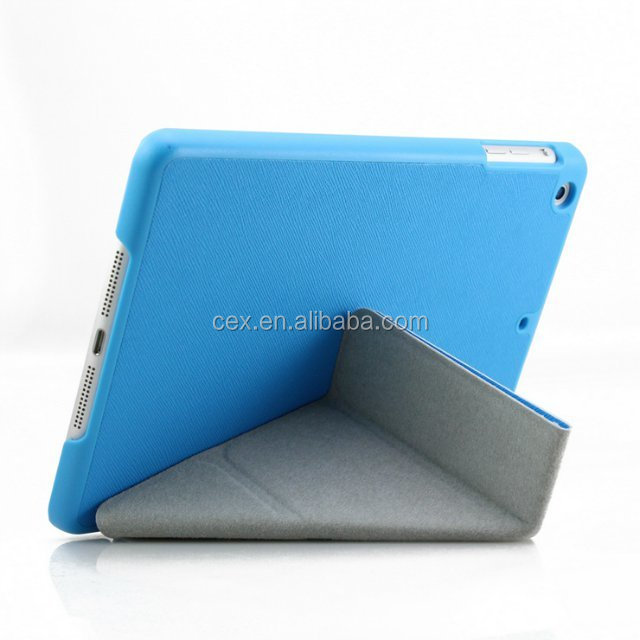 Multi-angle Smart Cover Leather Case Cover Stand For iPad mini Retina 1 2