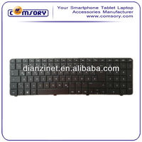 Wholesale US Keyboards for HP CQ72 Notebook Replace Black color