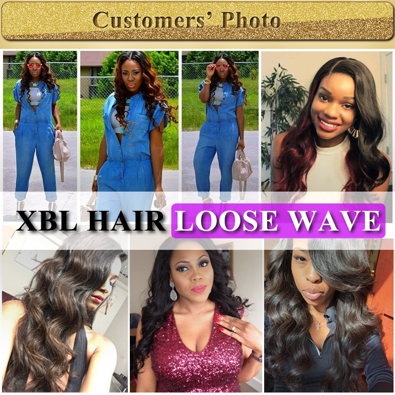 XBL Collect hair from India, tangle free wholesale virgin Indian human hair, loose wave virgin Indian hair