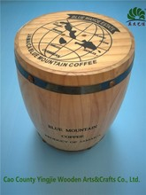Customed Handmade antique wooden barrels for beer, wooden coffee barrels