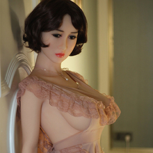New 161cm full photo silicone vagina real sex doll skeleton big breast