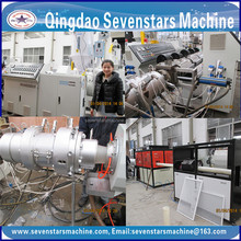 single wall corrugated pipe /plastic filament extruding machine
