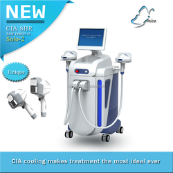 new launched hair removal IPL SHR machine
