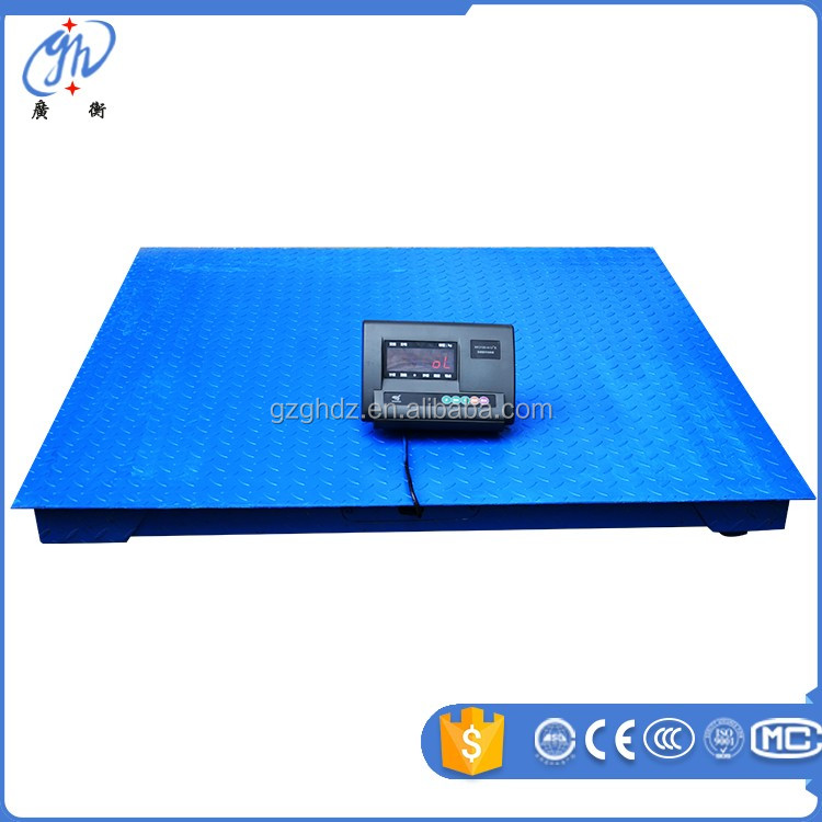 industrial platform scale small floor scales 2/ 3 /5 ton weighing scale for animal