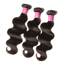 raw brazilian hair virgin brazilian hair extensions xuchang longqi hair products trio brazilian body wave natural color