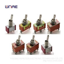 Good quality WNRE mini toggle switch on-off-on on-on on-off rocker Toggle Switch