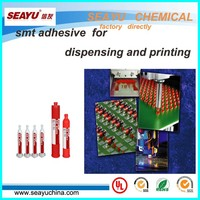 SE8309- SMT red glue printed with thick metal mask setncil
