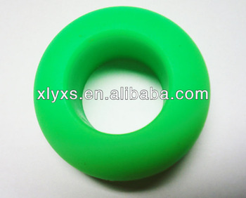 OEM Custom Bouncy Silicone Rubber Grips Ring for Gym Equipment